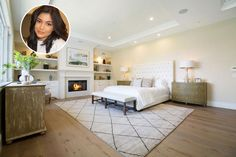 Sweet Dreams Are Made Of This? Astonishing Celebrity Bedrooms - Clearly They Didn't Save On Interior Designer - Page 37 of 63 - Psychic Monday Celebrity Bedrooms, Stylish Bedroom, Hollywood Celebrities, Sweet Dreams, Contemporary Style, Master Bedroom, Interior Design, Master Suite, Nest Design