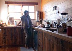 Coryander Friend in her Los Angeles kitchen.