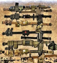 Is a battle belt an essential piece of prepper gear? - Realty Worlds Tactical Gear Dark Art Relationship Goals Police Tactical Gear, Airsoft Gear, Tactical Belt, Tactical Equipment, Tactical Survival, Survival Gear, Plate Carrier Setup, War Belt, Battle Belt