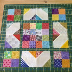 Happy New Year to you all! Hi it's Abigail from cut&alter here and I am so excited to be the Hive Mama of Hive 8 and to be Queen Bee. Scrappy Quilt Patterns, Scrappy Quilts, Easy Quilts, Small Quilts, Quilting For Beginners, Quilting Tutorials, Quilting Projects, Quilting Designs, Beginner Quilting