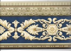 ARCHITECTURAL VICTORIAN MOULDING WALLPAPER BORDER CLASSIC NEW ARRIVAL