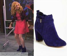 Liv & Maddie: Season 2 Episode 20 Liv's Blue Ankle Boots