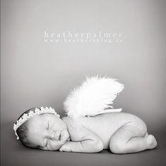 Newborn Photo Angel