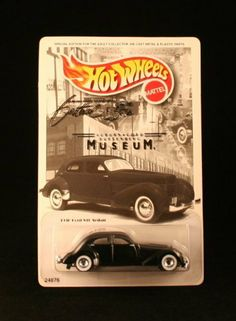 Auburn Cord Dusenberg Museum Exclusive 1939 Cord S10 Sedan Car Hot Wheels 1:64 Scale by Mattel. $9.89. 1936 CORD S10 SEDAN * AUBURN / CORD DUESENBERG MUSEUM * Exclusive 1999 Hot Wheels Special Edition 1:64 Scale Die-Cast Vehicle. This special edition Hot Wheels car souvenir was produced exclusively for the ACD Festival, and NATMUS to celebrate the '36 Cord 810, an automotive classic, and to promote the preservation of automotive heritage.. Ages 3+. From Mattel. Orig... Custom Hot Wheels, Hot Wheels Cars, Hot Wheels Display, Toy Packaging, Miniature Cars, Matchbox Cars, Train Layouts, Diecast Model Cars, Old Toys