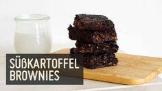 Süßkartoffel Brownies // wunderbar mit Glutenfreien Mehl & n grossen Löffel Zartbitter Aufstrich !