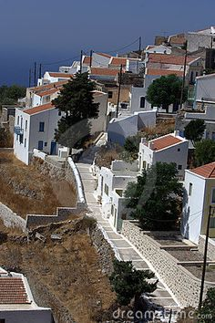 a village on the edge of the volcano Νικιά, Νίσυρος Greece Travel, Italy Travel, Greek Islands, Volcano, Tuscany, Street Photography, Places To See, Travel Destinations, Spain
