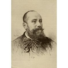 Armand Silvestre 1837-1901 French Poet And Literary Critic From The Book The Masterpiece Library Of Short Stories French Volume 4 Canvas Art - Ken Welsh Design Pics (12 x 18)