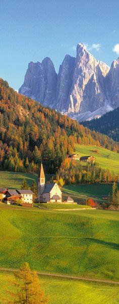 Val Di Funes, Dolomites, Italy