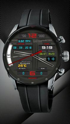 Diesel Watches For Men, Best Watches For Men, Amazing Watches, Luxury Watches For Men, Beautiful Watches, Sport Watches, Cool Watches, Rolex Watches, Gadget Watches