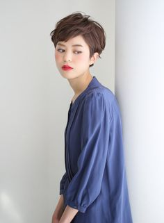 『ウェット感」大人ショート 【ARC+】 http://beautynavi.woman.excite.co.jp/salon/8341?pint ≪…