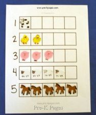 farm counting mat via www.pre-kpages.com