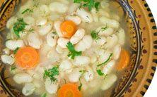 sopa de feijão branco, cenoura e gengibre - 6