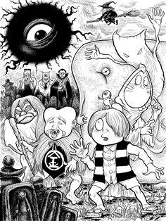 Gegege no Kitaro by goemonsama.deviantart.com on @DeviantArt