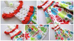 sew ritzy~titzy: dressy towel-topper tutorial