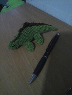 Peluche iguana #amigurumi