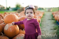 Pumpkin Patch Mini Session | New Braunfels Children's Photographer