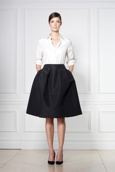 Skirt + Shirt | classic Carolina Herrera