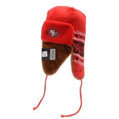 f8798ed70 NFL San Francisco 49ers Team Colors The Team Trapper Hats  12.99 Cheap  Beanies