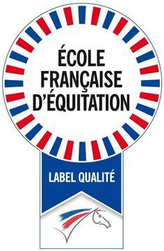 Label ecole Francaise d'equitation