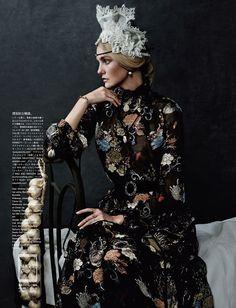 Vogue Japan: Caroline's Symphony | Tom & Lorenzo Fabulous & Opinionated