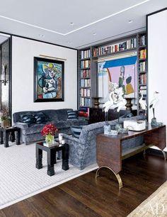 Détail du nouveau penthouse à Manhattan de Giancarlo Giammetti