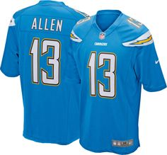 e83ccf11a5f Keenan Allen Los Angeles Chargers NFL Pro Line Big   Tall Jersey ...