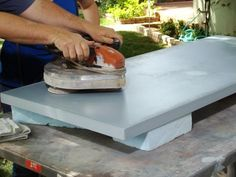 Concrete Countertop For a Workbench | how-tos | DIY