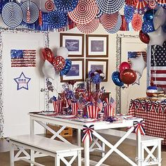 4th of july decorations dollar store