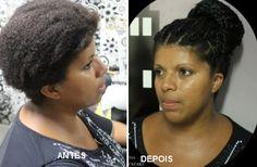 Katia Miyazaki Coiffeur - Salão de Beleza em Floripa: trança raiz - aplique de  cabelo - cabelo afro -  ...