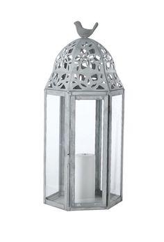 Lanterne i zink og glas fra House Doctor