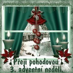 vanoce_adventni_prani Christmas And New Year, Merry Christmas, Christmas Ornaments, Diy And Crafts, Santa, Table Decorations, Holiday Decor, Home Decor, Merry Little Christmas