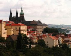 Prague castle Prague Castle, Cityscapes, Paris Skyline, Spaces, Mansions, Architecture, House Styles, World, Bohemia