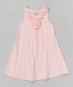 Look at this #zulilyfind! Light Pink Lauren Dress - Infant, Toddler & Girls by E-Land Kids #zulilyfinds