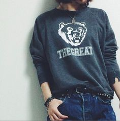 #thegreat #bearsweater #fashion www.thisisthegreat.com