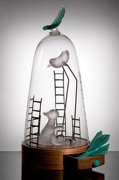 Catherine Labonte - Objetos con Vidrio