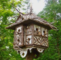 .lovely bird condo #twigs