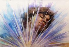 «Self-portrait» Watercolor — 2014, 30х40