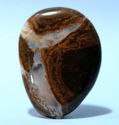 Thunderegg agate cut down and polished. I would love this mounted in a pendant!