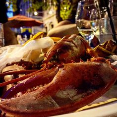 Lobster from lobster night at the madhatter in Washington DC.