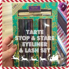 Tarte Stop & Stare Eyeliner and Lash Set