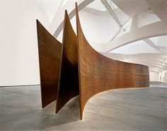 Richard Serra in Guggenheim Bilbao, Serpiente (Snake), 1994–97