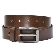 HIDEMARK AMERICAN BROWN LEATHER BELT