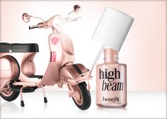 Benefit Cosmetics - high beam - This and Watts Up -- use daily. Benefit Makeup, Benefit Cosmetics, All Things Beauty, Beauty Make Up, Images Esthétiques, Watts Up, Cool Makeup Looks, Liquid Highlighter, High Beam