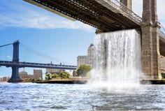 New York Waterfalls!