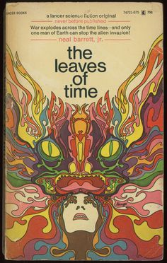 the leaves of time(1971, cover design by mike hinge)