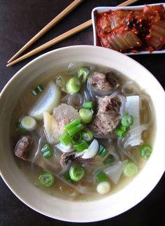 Kalbi Tang | Korean Short Rib Soup (Paleo, AIP)