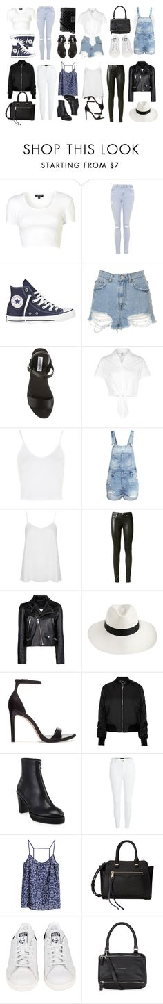 """""""kaleidoscope"""" by chenile ❤ liked on Polyvore featuring Topshop, Converse, Steve Madden, American Apparel, H&M, Yves Saint Laurent, MANGO, Zimmermann, Zara and Acne Studios"""
