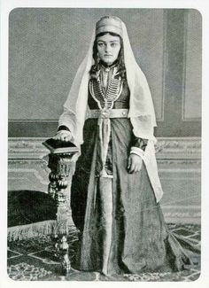 Kabardian, 1870s.  (Kabardino-Balkar, northern Caucasus).