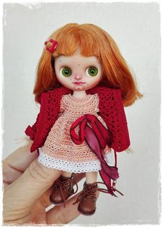 Petite Blythe custom Susie by Antique Shop Dolls