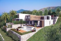 Villa complex by Salt & Water in Montenegro